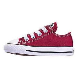 Kids' Toddler Converse Chuck Taylor Ox Casual Shoes Maroon 7