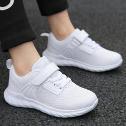 kids trainers girls running shoes breathable mesh