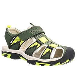 ALEADER Kids Youth Sport Water Hiking Sandals  Army 3.5 M US