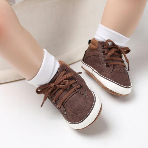 0-18M Toddler Casual Strap Soft Crib Boots