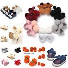 0-18M Newborn Baby Girl Cute Crib Shoes Toddler Soft Sole Ca