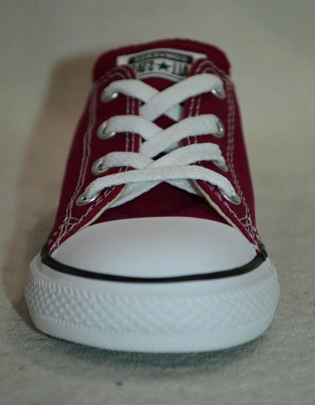 Converse® OX Burgundy Toddler Boy/Girl's Shoes-Size