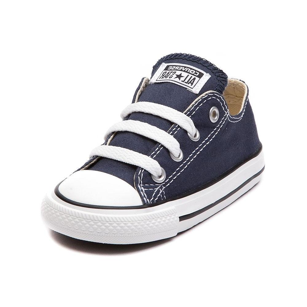 all star low chucks infant toddler navy