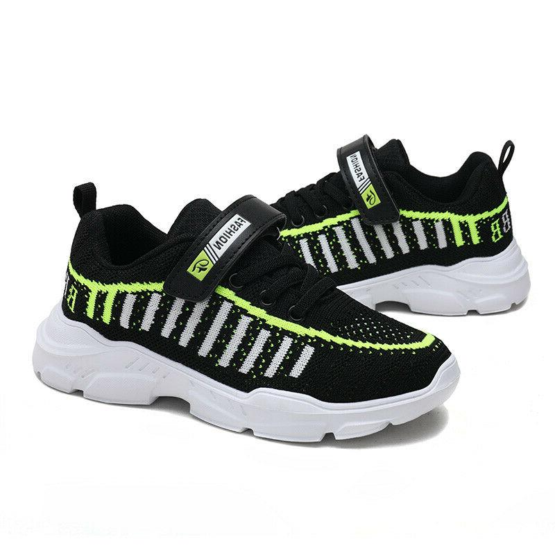 Althletic Kids Trainers Girls Sports Mesh