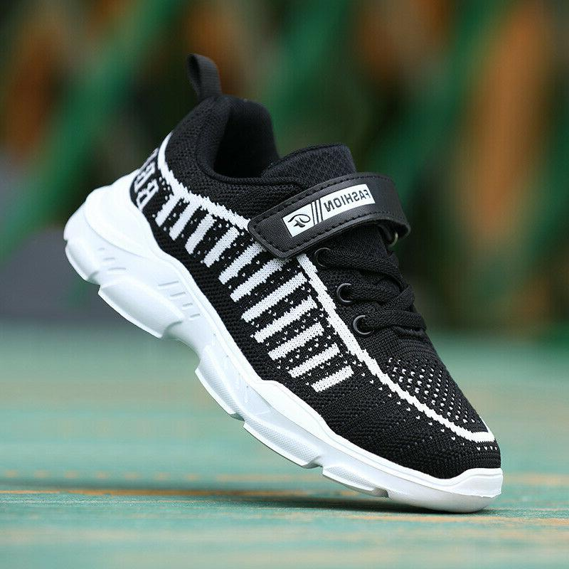 althletic shoes kids running trainers boys girls