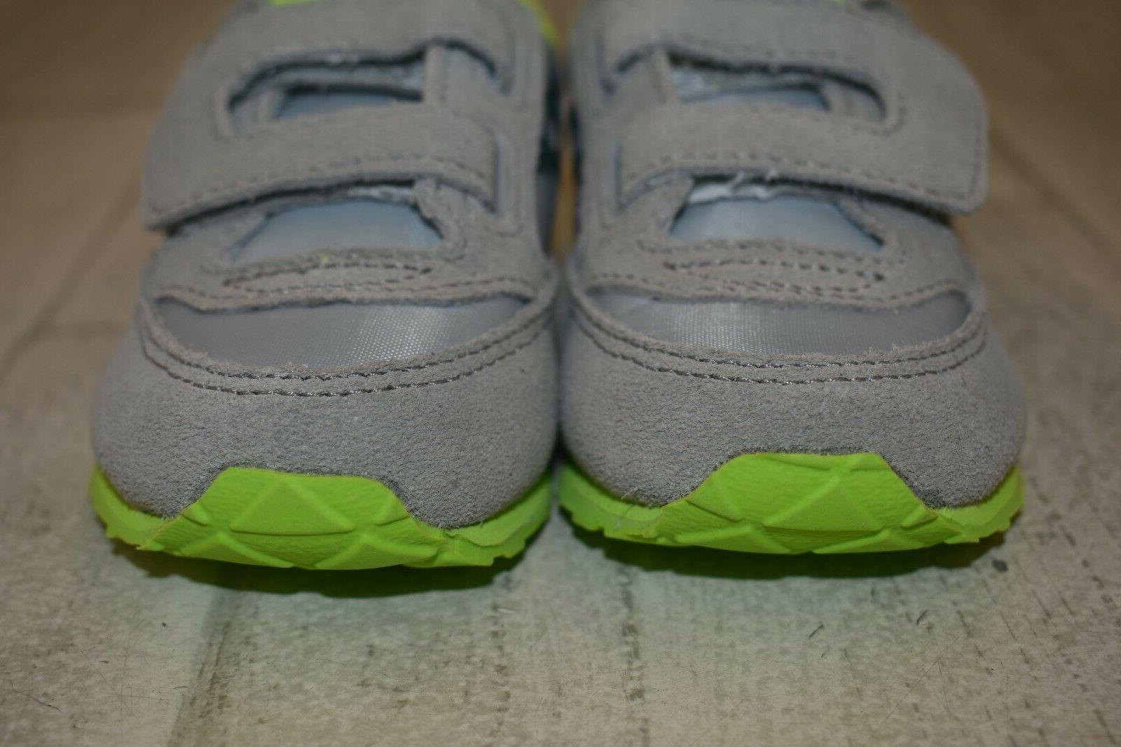 **Saucony Baby Sneaker Toddler Size 6M, Grey/Lime