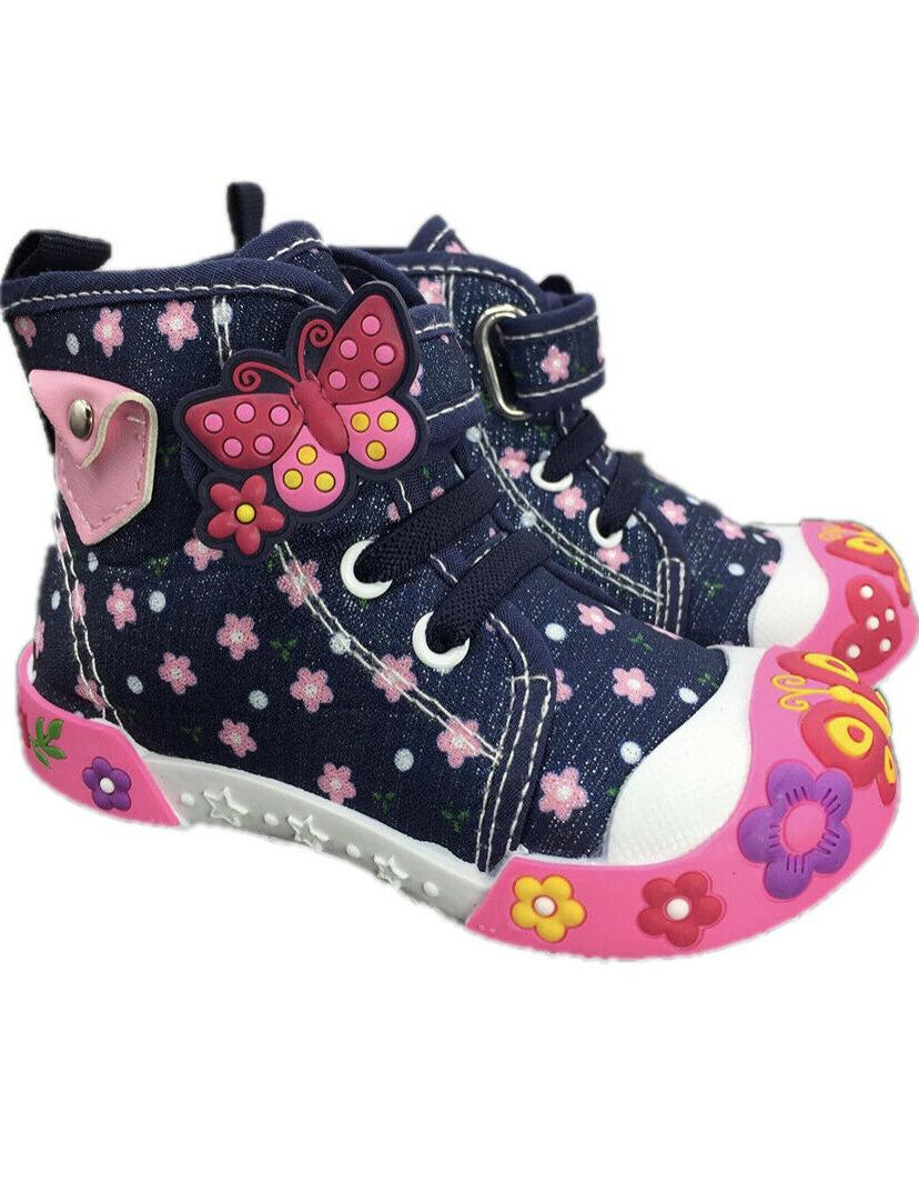 baby toddler girl shoes size 4 denim