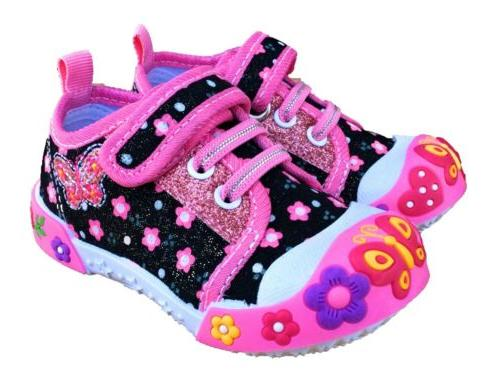 baby toddler girl shoes size 5 black
