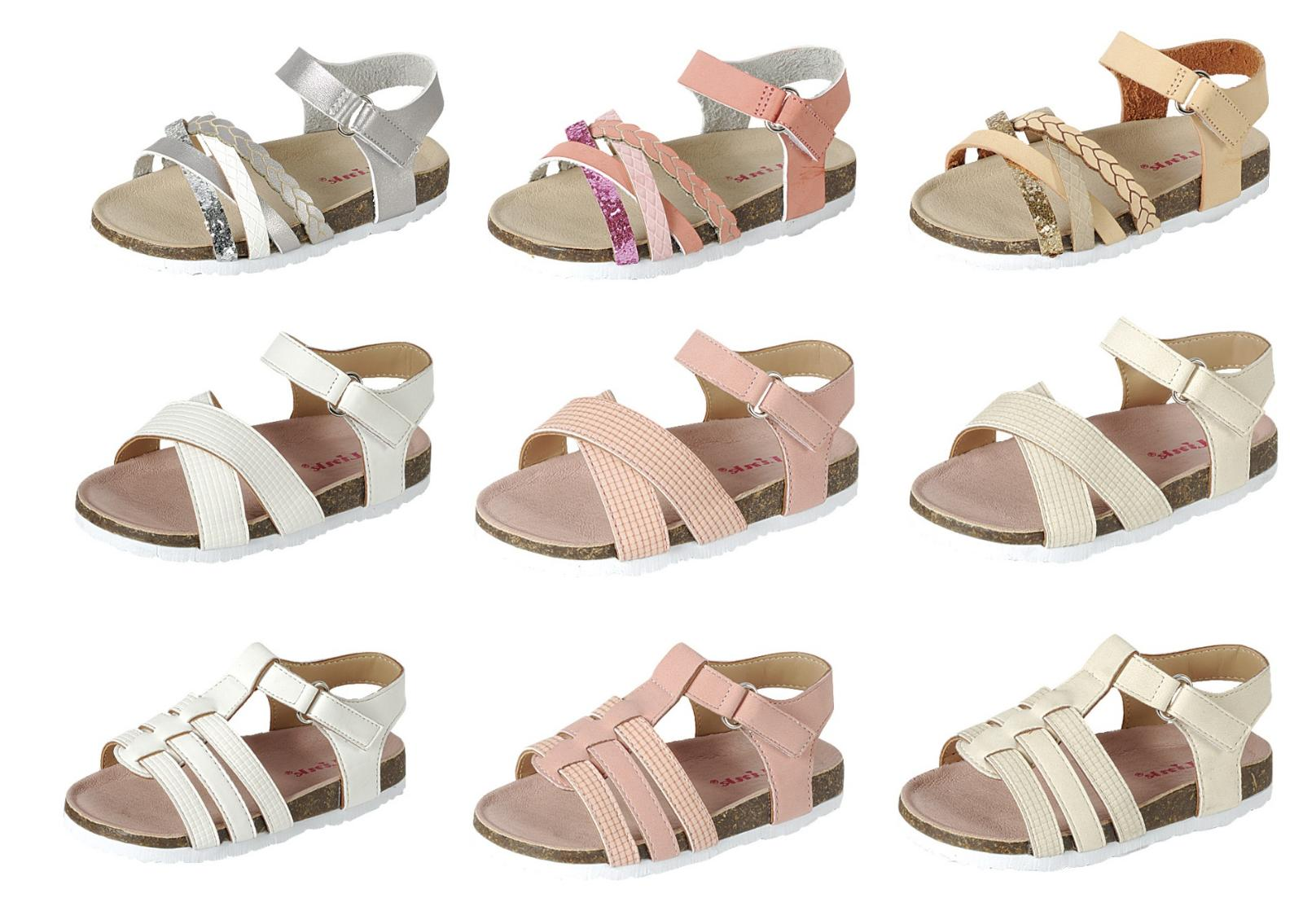 baby toddler girls sandals 3 styles open