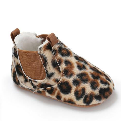 Baby Toddler Soft Sole Leather Shoes Boy Girl