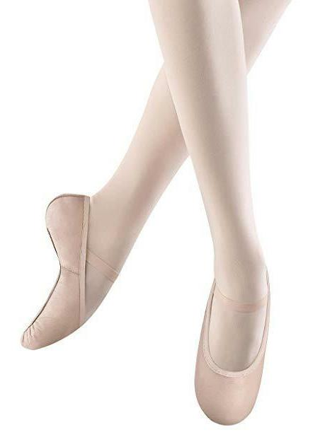 Bloch Belle Pink Leather Full Sole Ballet Shoe