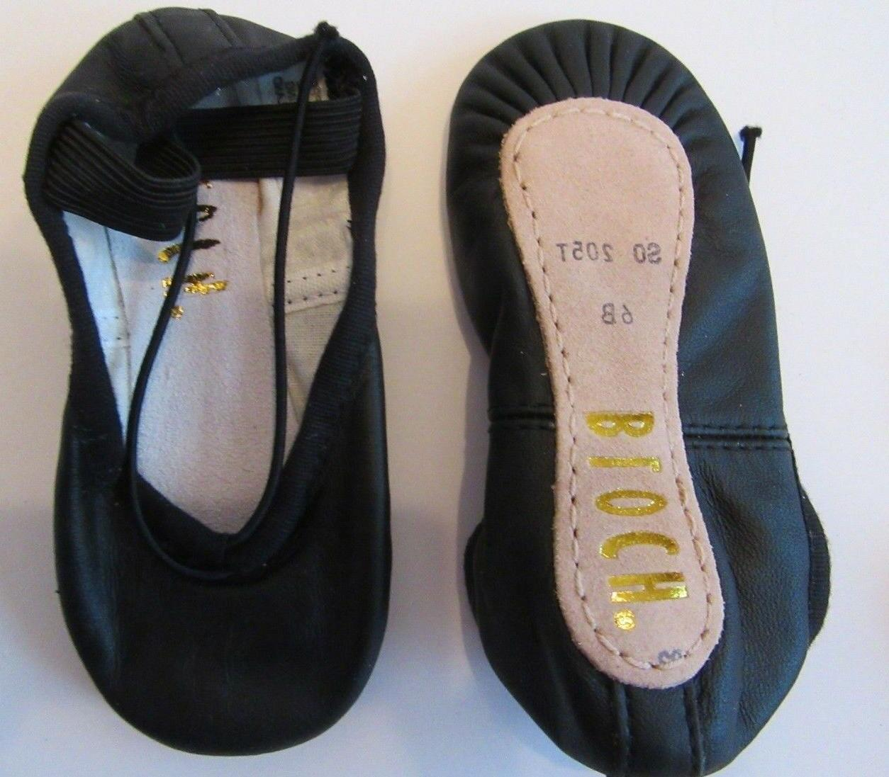 Bloch Black 6B Dansoft Shoe