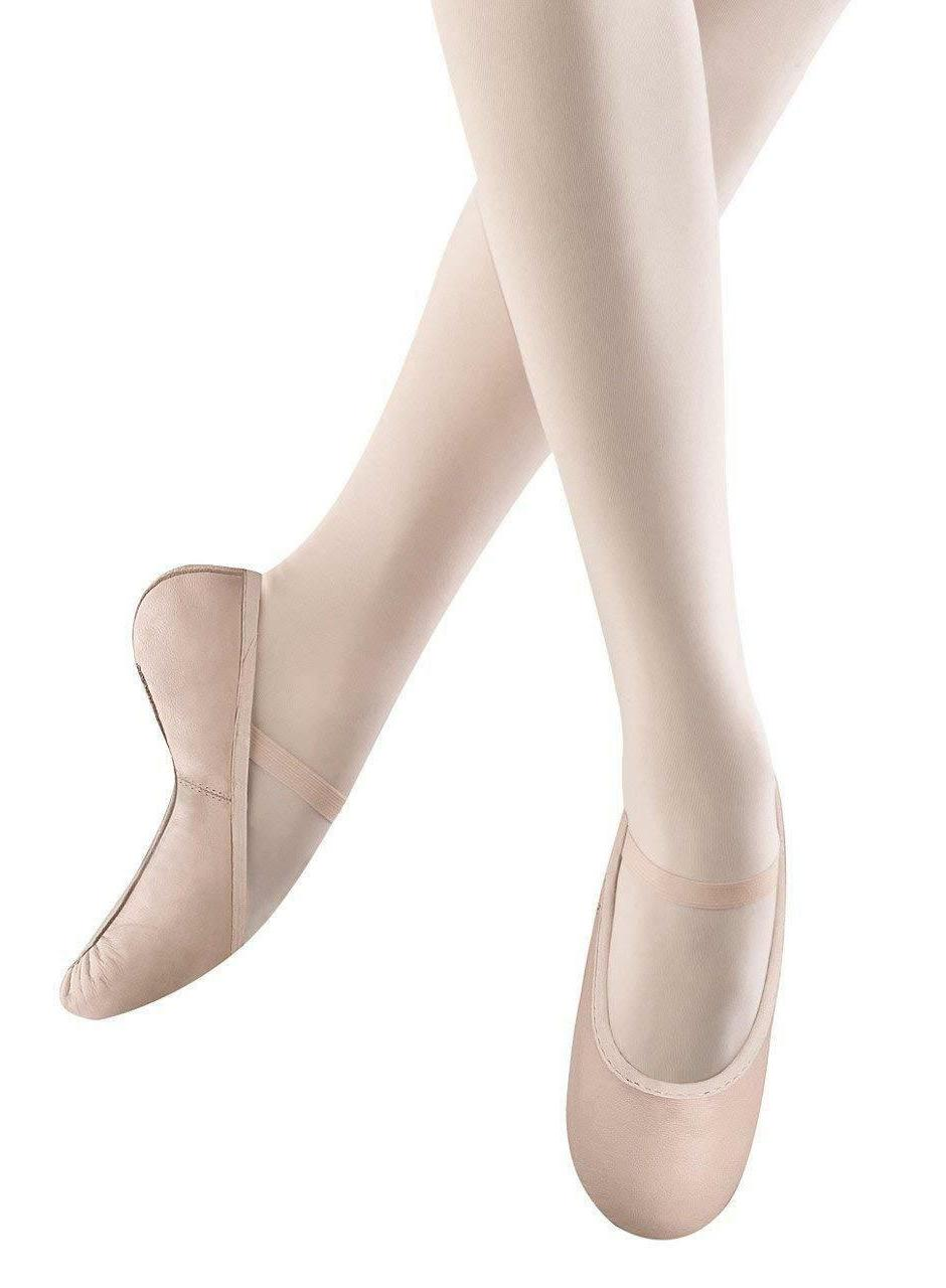 Bloch Dance Girls Dance Shoes Belle Full Sole Leather Ballet
