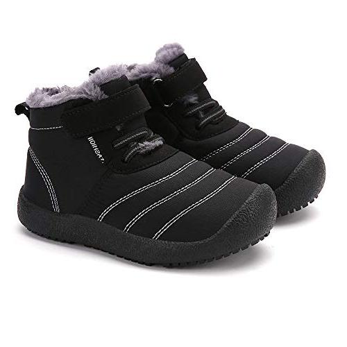 CIOR Boots Fur Outdoor Slip On Shoes Boots-X.black-28