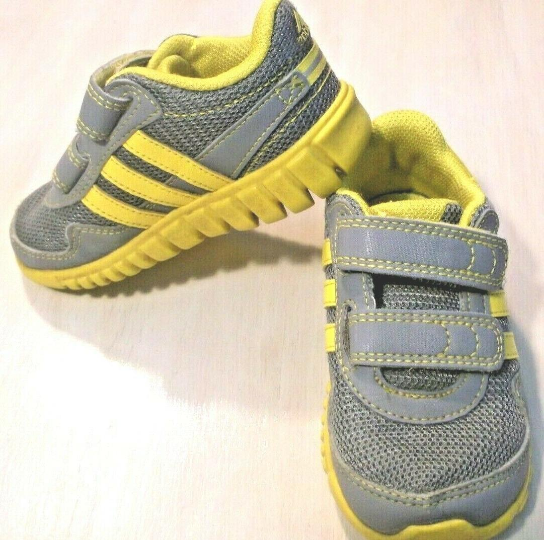 ADIDAS boys/girls toddler baby shoes hook and loop fastening