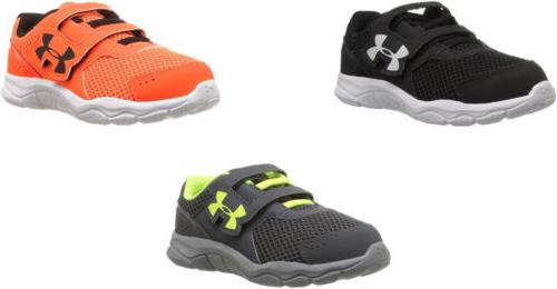 Under Armour Boys' Infant Engage 3 Adjustable Closure Shoes,