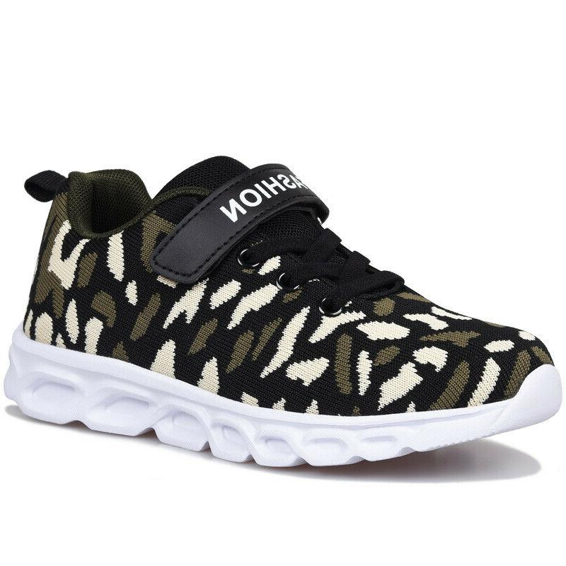 Boys Casual Athletic Tennis Shoes