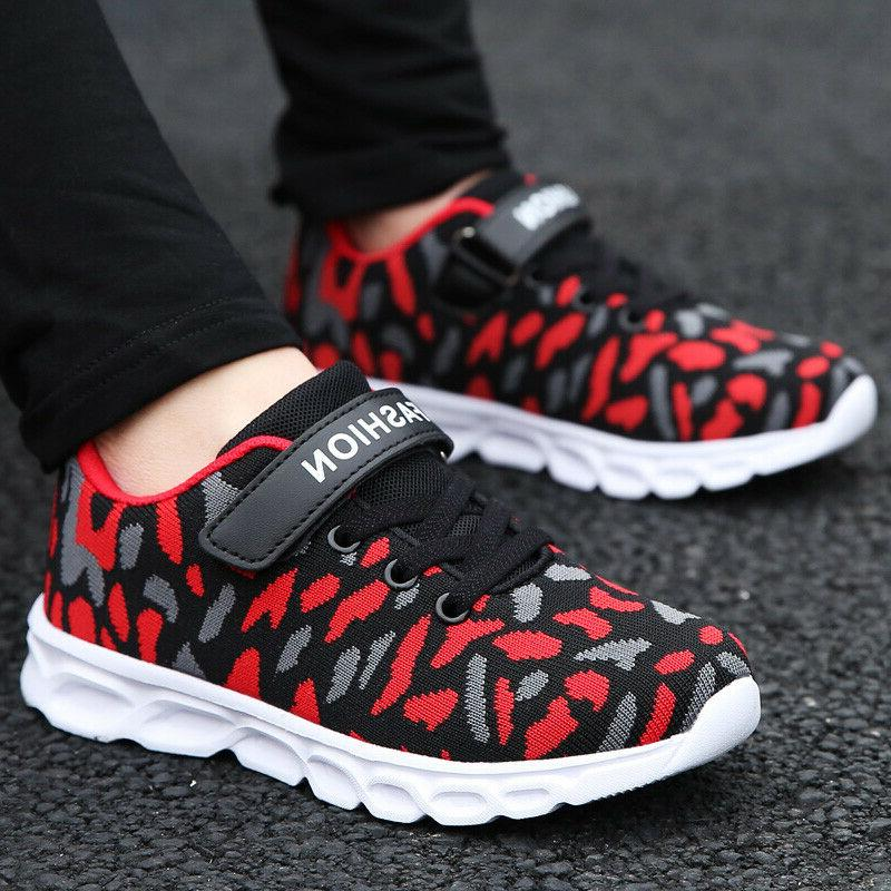 boys running shoes camouflage casual walking sneakers