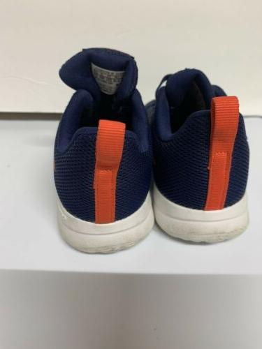 Adidas Boys shoes size 7 toddler And Blue Running Sneakers