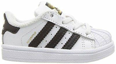 adidas Originals Boys Superstar I Running Shoe- SZ/Color.