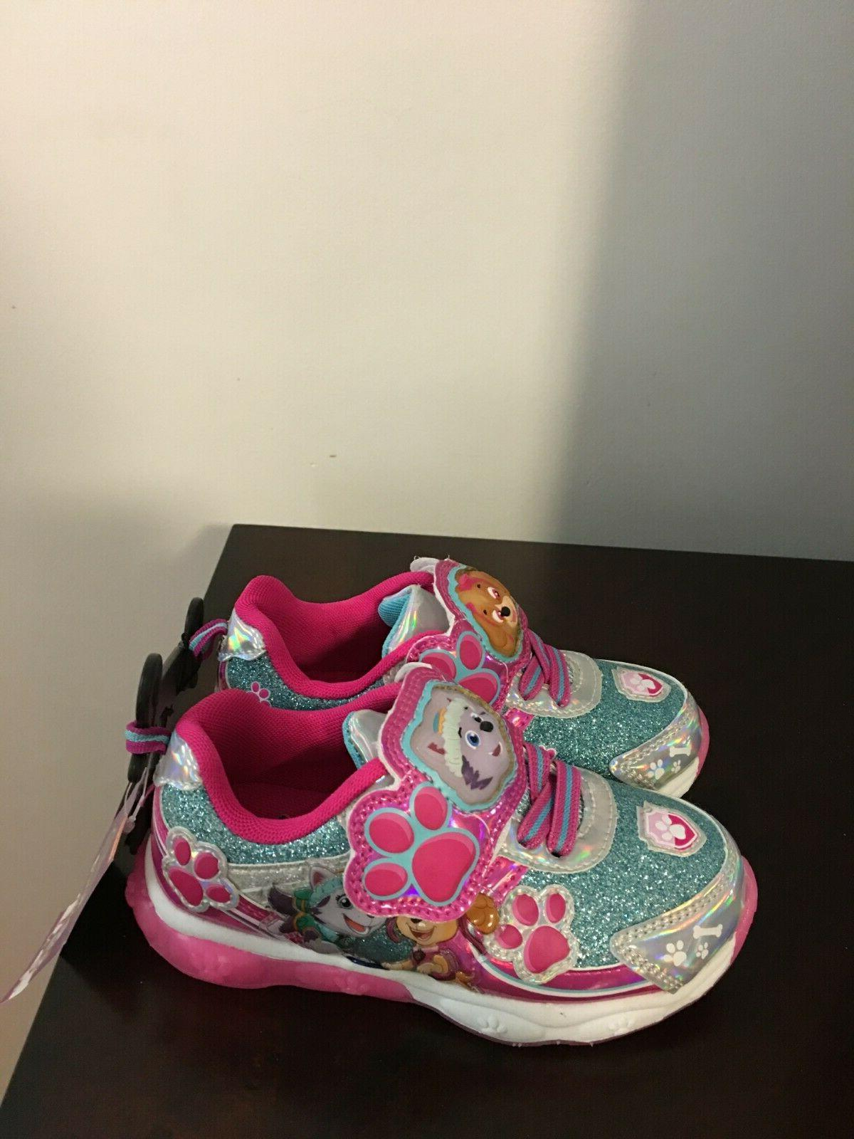 BRAND NEW TODDLER SIZE 10 PATROL LIGHT SHOES