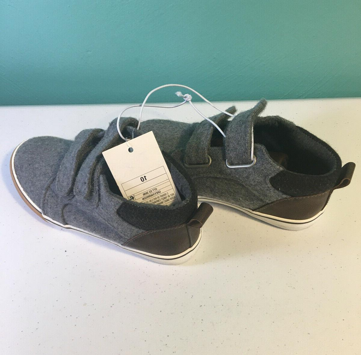 Cat & Baby Toddler Grey Ankle Shoes Gray Sneakers New