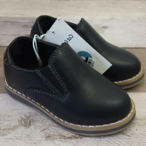 cat and jack toddler boys black loafers