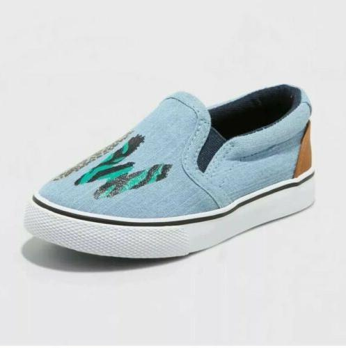 cat and jack toddler boys shoes slip