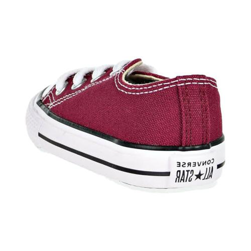 Converse Taylor Star Toddler's Maroon 748596F