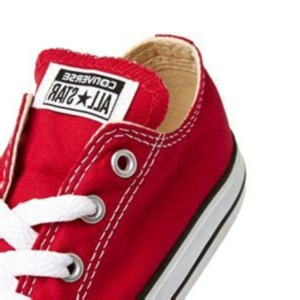 Converse Chuck Taylor Star Ox Red White Infant Toddler Boys