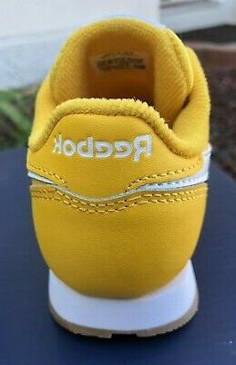 Reebok Classic Yellow Gum Toddler Size