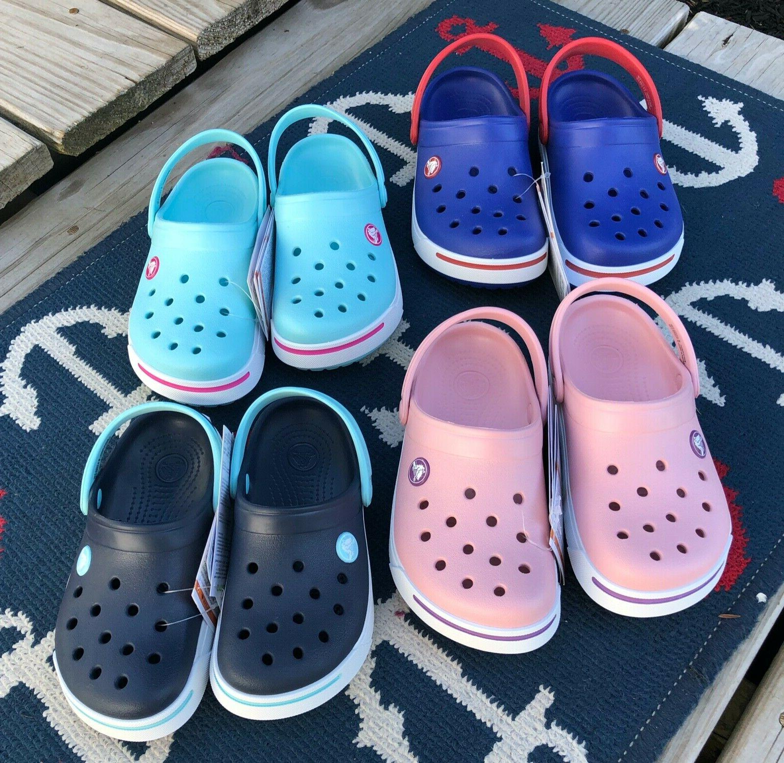 Crocs Toddler Pink Red July 4th