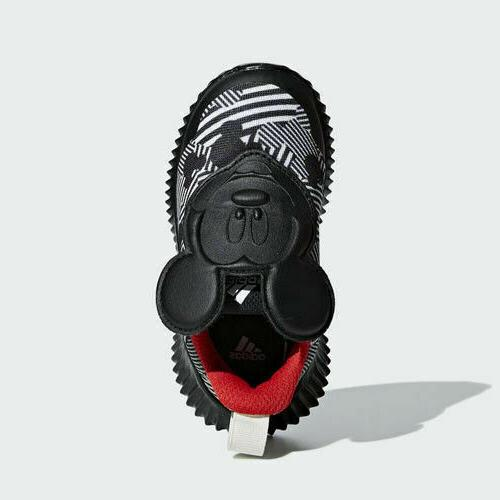 Adidas D96916 toddler Mickey baby shoes kids black/white/red