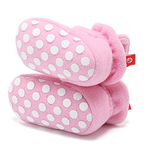 CIOR Fantiny Booties with Bottom,DNDNKXBX,Button.Pink,13
