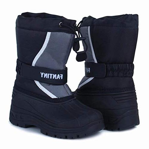 CIOR Fantiny Boots Winter Outdoor Fur Lined Girls