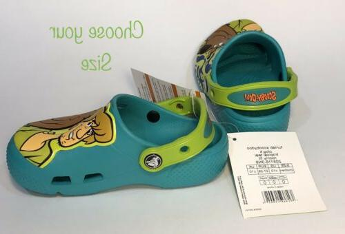 Crocs Fun Lab 5, 11 teal *NEW*