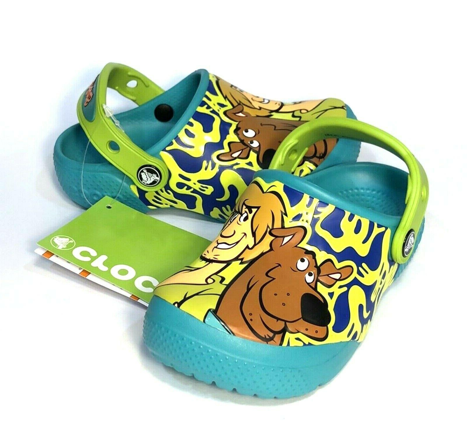 fun lab scooby doo clogs toddler size