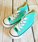 Converse Girl's High Top All Star Shoes Aqua Unisex Baby Tod