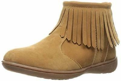 Girl's Toddler CARTER'S CATA Brown/Tan Fringe Dress Boots/Shoes NEW