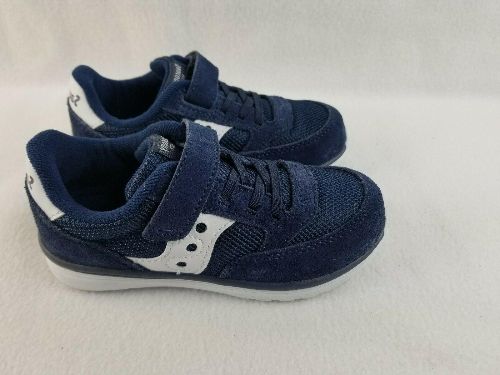 Infant Saucony Baby Jazz - Lite Sneaker, Size 4 M - Blue