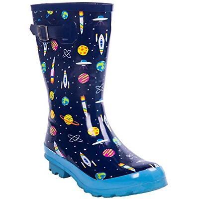 AMAWEI Kids Rain Boots Boys Girls Baby/Toddler/Little Kids/B