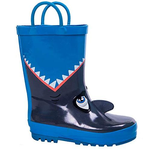 kids rain boots for boys girls baby
