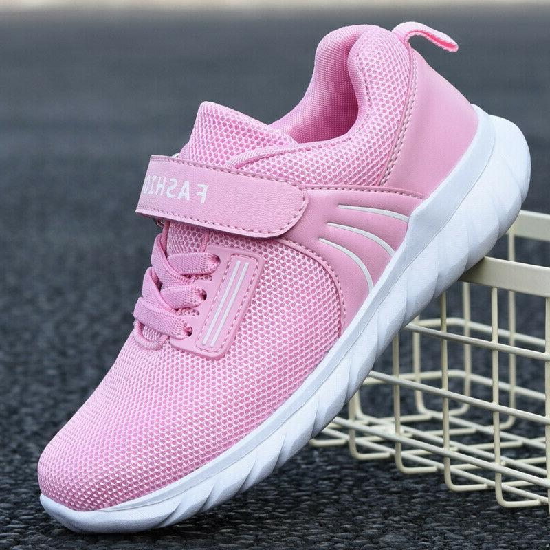 Kids Trainers Shoes Breathable Athletic