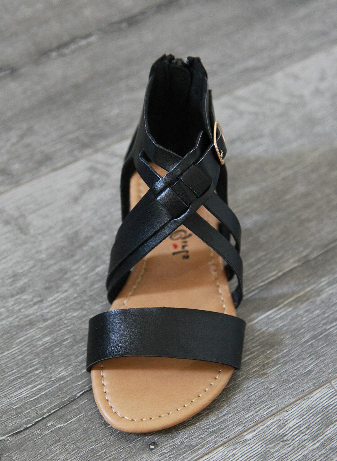 New Toddler Cross Sandals size