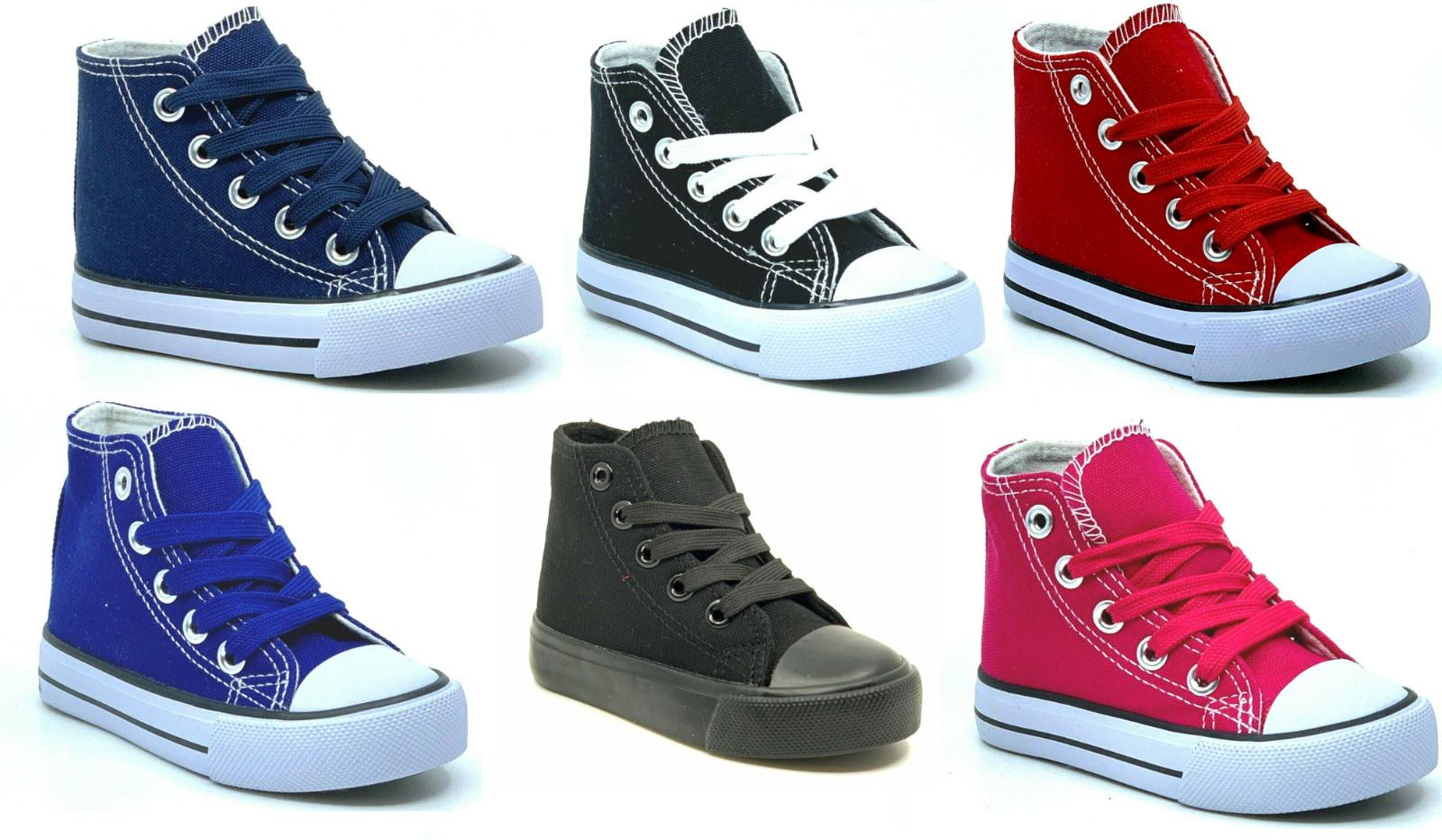 new lace up high top baby toddler