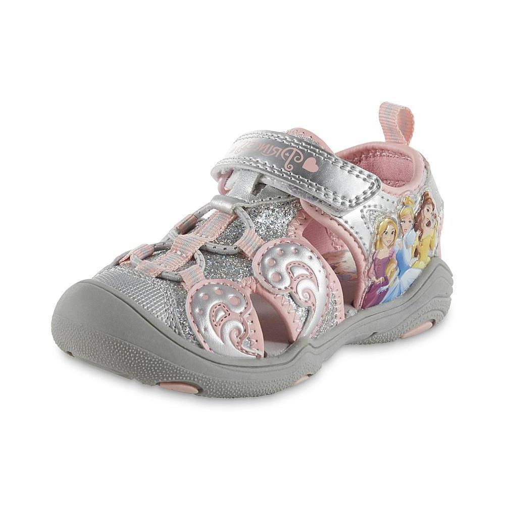 NEW NWT Disney Girls Baby Toddler Shoes Sandals Princess Siz
