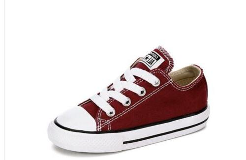 new toddler all star sneakers shoes maroon