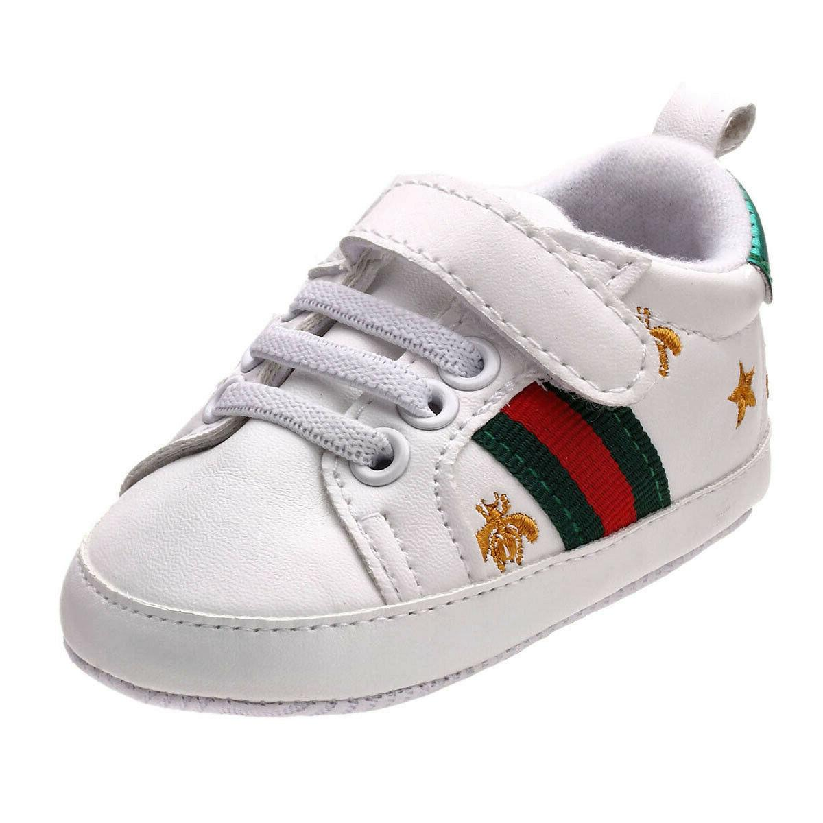 newborn baby crib shoes faux leather infant