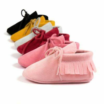 Newborn Tassel Soft Shoes Toddler Girl Shoes