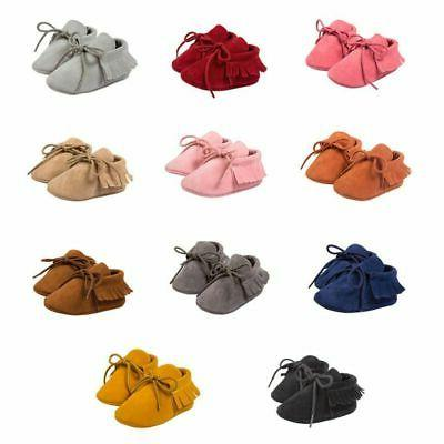 Soft Sole Suede Shoes Toddler Boy Girl Shoes